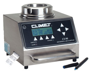 CLiMET® 90 (CI-90) Microbial Air Sampler