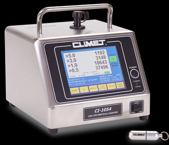CLiMET® 1054 Laser Particle Counter