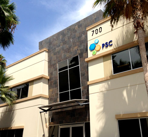 PSC Biotech company headquarters in Pomona, CA